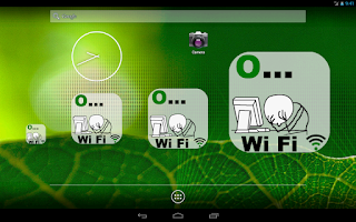 Screenshot of WiFi  Troll Face Widget