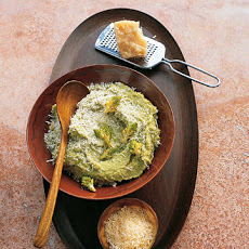 Broccoli Romanesco and Parmesan Puree