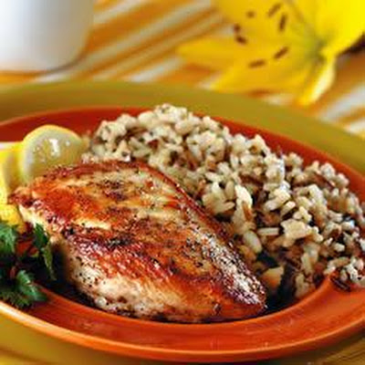 Easy Pan-fried Chicken With Lemon And Oregano