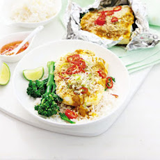 Curry Coconut Fish Parcels