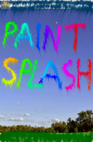 Screenshot of Paint Splash!