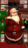 Screenshot of Talking Santa 2 Free
