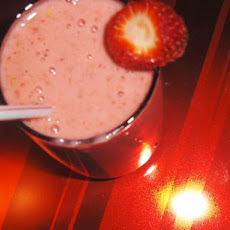 Super Thick Strawberry Smoothies