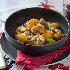 Gluten Free Moroccan Skillet Quinoa and Chicken