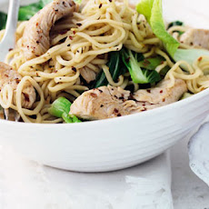 Spiced Turkey noodles
