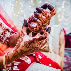 by Irfaan Hussein - Wedding Details ( henna, mehendi, colors, beautiful, bangles, bride )