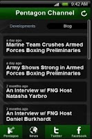 Screenshot of Pentagon Channel