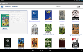 Screenshot of DL Reader