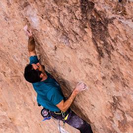 Climbing Joe Six Pack 2 by Climb Globe - Sports & Fitness Climbing ( virgin river gorge, rock climbing, climbing, utah, vrg, arizona, joe six pack, rock, saint george )