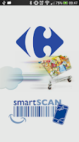 Screenshot of Carrefour Belgium SmartScan