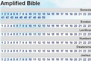 Screenshot of Amplified Bible