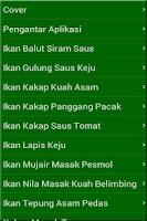 Screenshot of Resep Masakan Ikan