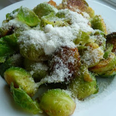 Cheesy Brussels Sprouts