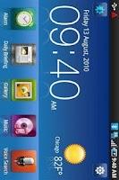 Screenshot of Desk Home Samsung Vibrant