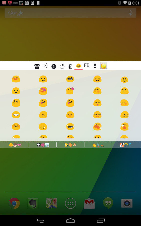 COOL SYMBOLS PRO ( Emoticon ) Screenshot 9