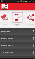 Screenshot of Alfa