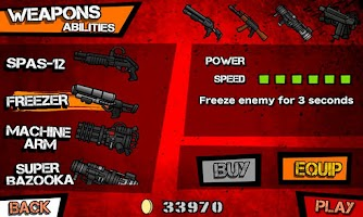 Screenshot of Biofrenzy: Frag The Zombies!!