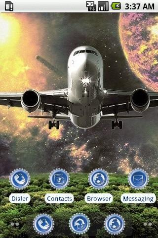 Space Plane [SQTheme] for ADW