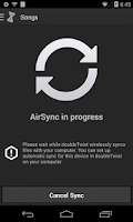 Screenshot of AirSync iTunes Sync & AirPlay