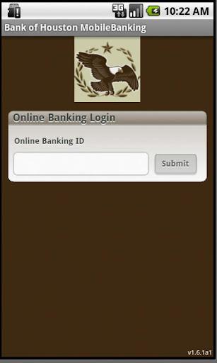 Bank of Houston MobileBanking