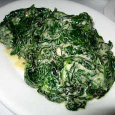 Low Carb Creamy Spinach