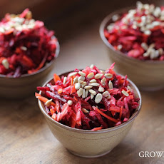 Beetroot, Carrot And Apple Salad