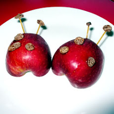 Apple Ladybug Treats