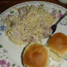 Linguine with Ham