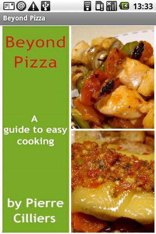 【免費生活App】Beyond Pizza Cookbook-APP點子