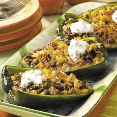 Grilled Chiles Rellenos
