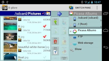 Screenshot of X-plore File Manager