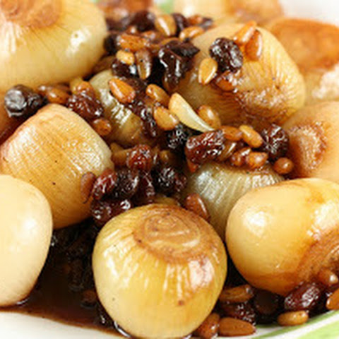 CrockPot Sweet and Sour Caramelized Onions