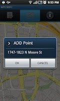 Screenshot of GPS WIFI