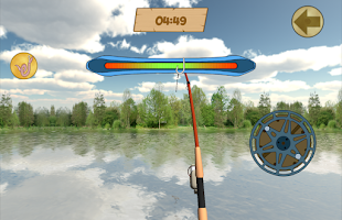 Screenshot of Fishing 3D. Great Lakes