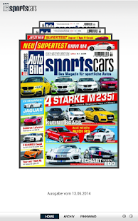 AUTO BILD Sportscars Reader - screenshot