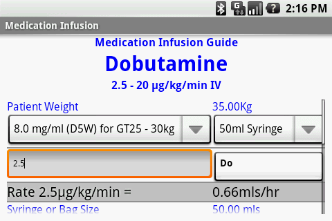 Medication Infusion