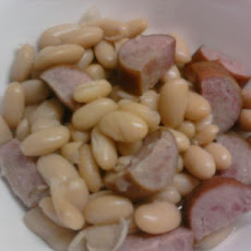 White Beans and Kielbasa