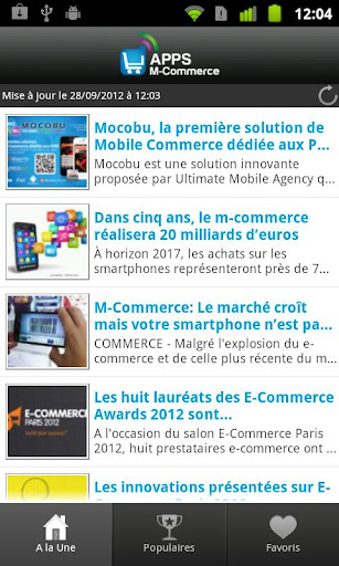 Apps M-Commerce