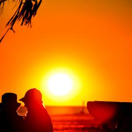 Sunset Love by Diane Davis - Landscapes Sunsets & Sunrises