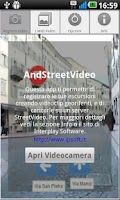 Screenshot of AndStreetVideo recorder