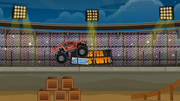Screenshot of Monster Truck Stunts Driver