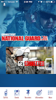 Screenshot of Connecticut National Guard