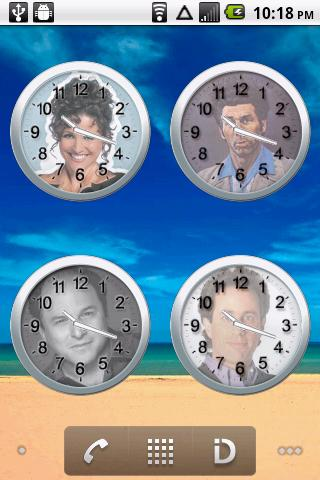 Seinfeld Clock ★ Widgets ★