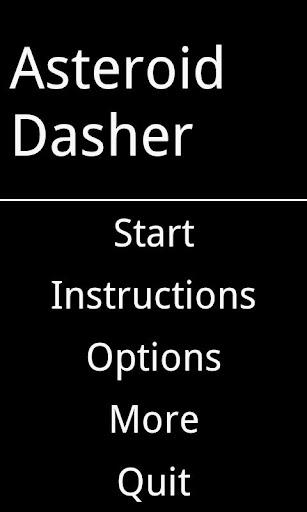 【免費街機App】Asteroid Dasher-APP點子