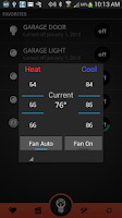 Screenshot of InControl Home Automation Free