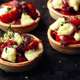 Lancashire Red Onion And Pepper Tarts