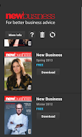 Screenshot of New Business Magazine