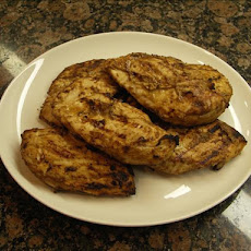 Grilled Chicken Breasts With Onion Glaze