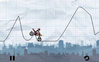 Screenshot of Stick Moto Race