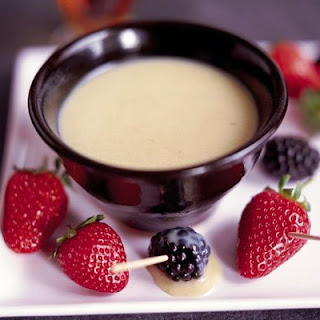 White Chocolate Fondue Recipes